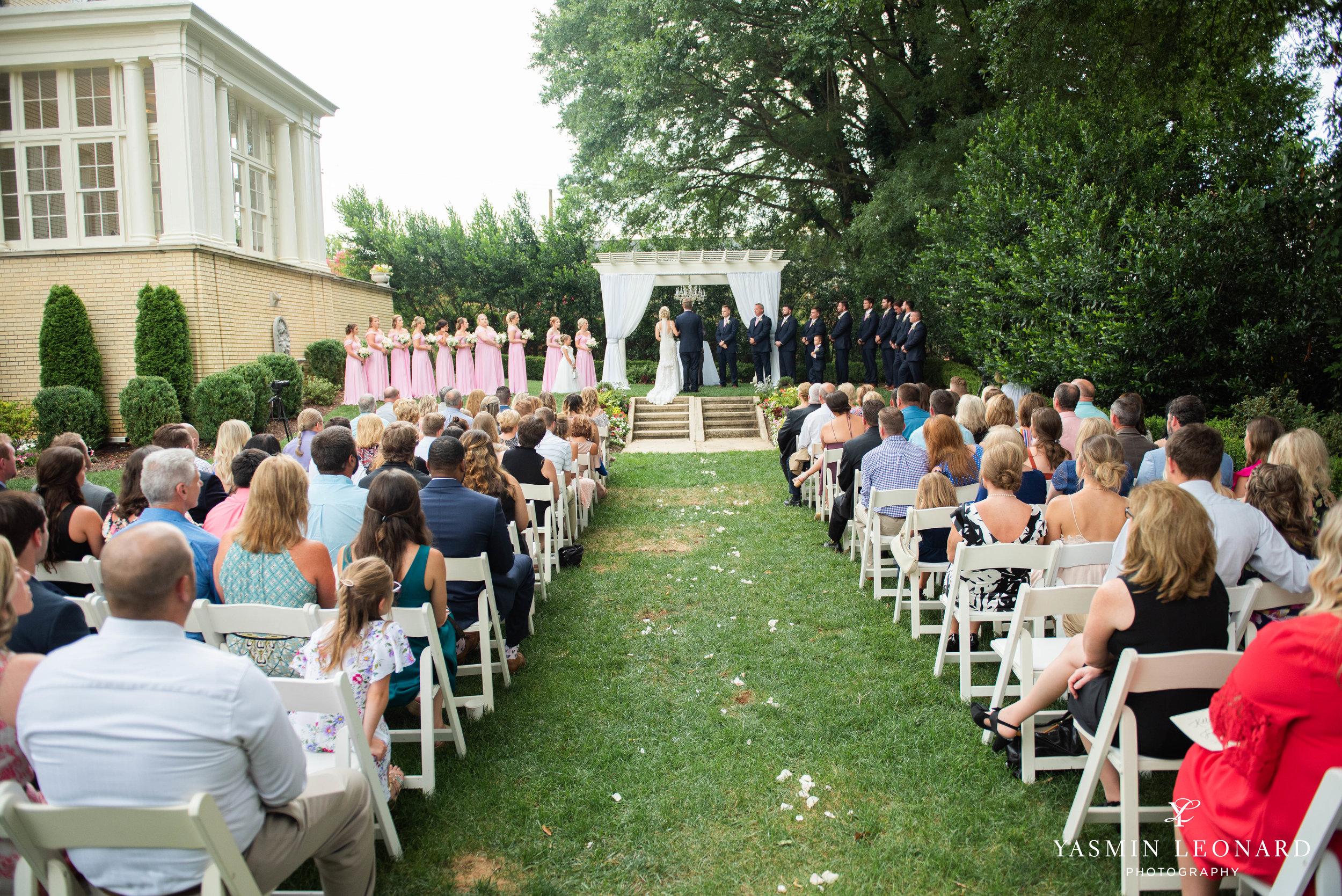 Separk Mansion - NC Weddings - Gastonia Wedding - NC Wedding Venues - Pink and Blue Wedding Ideas - Pink Bridesmaid Dresses - Yasmin Leonard Photography-21.jpg