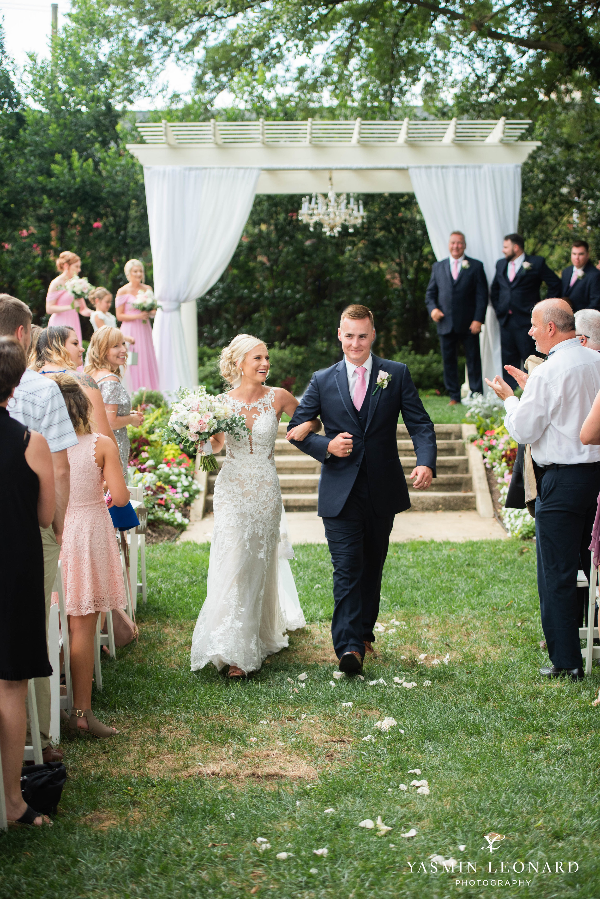 Separk Mansion - NC Weddings - Gastonia Wedding - NC Wedding Venues - Pink and Blue Wedding Ideas - Pink Bridesmaid Dresses - Yasmin Leonard Photography-25.jpg