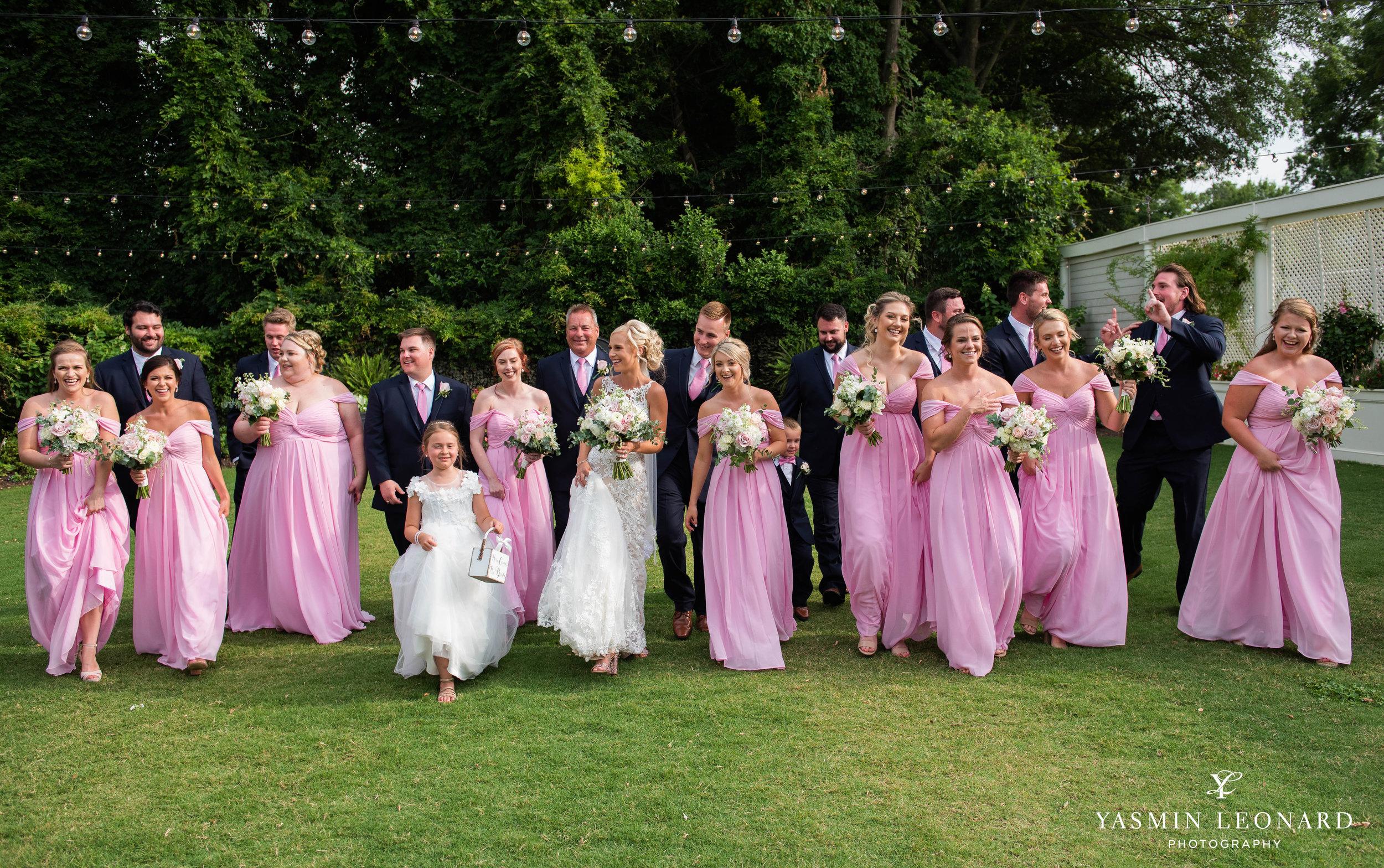 Separk Mansion - NC Weddings - Gastonia Wedding - NC Wedding Venues - Pink and Blue Wedding Ideas - Pink Bridesmaid Dresses - Yasmin Leonard Photography-26.jpg