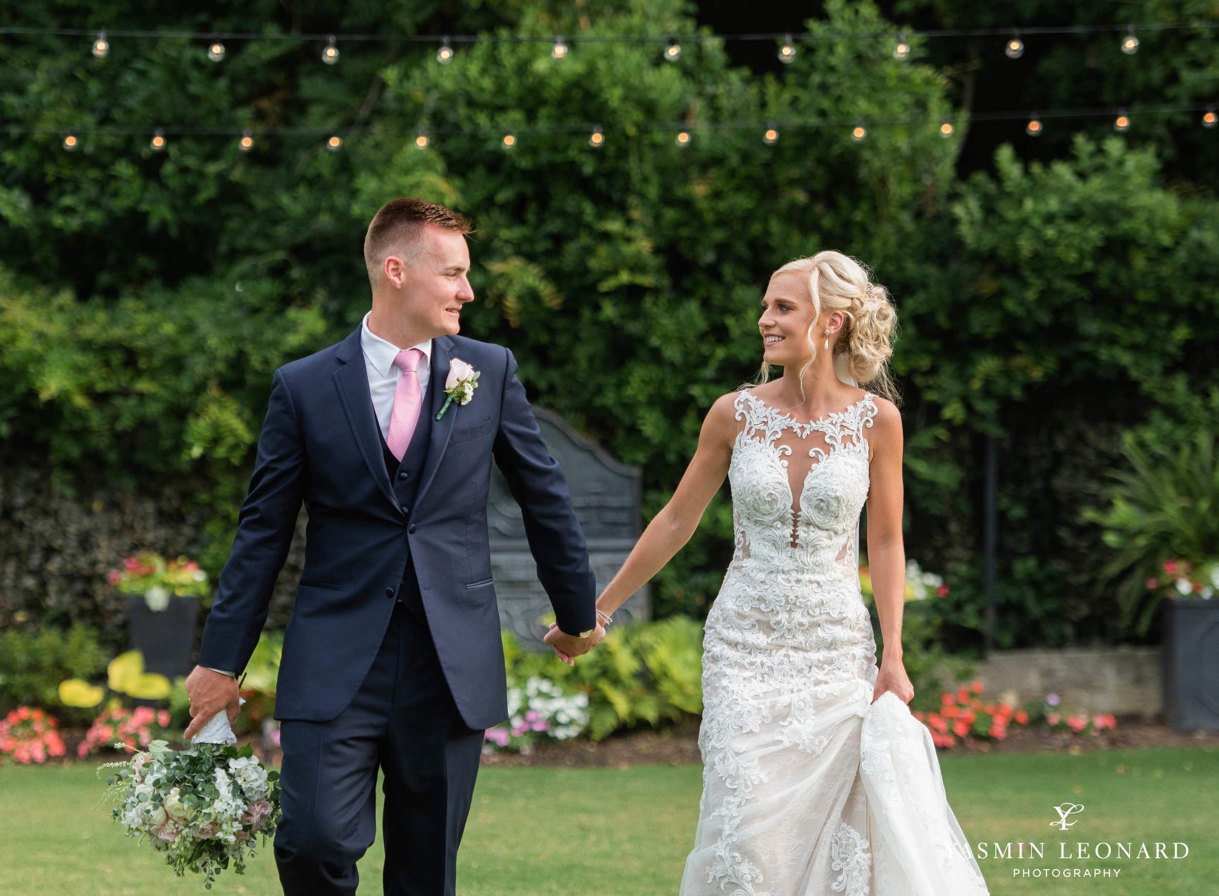 Separk Mansion - NC Weddings - Gastonia Wedding - NC Wedding Venues - Pink and Blue Wedding Ideas - Pink Bridesmaid Dresses - Yasmin Leonard Photography-27.jpg