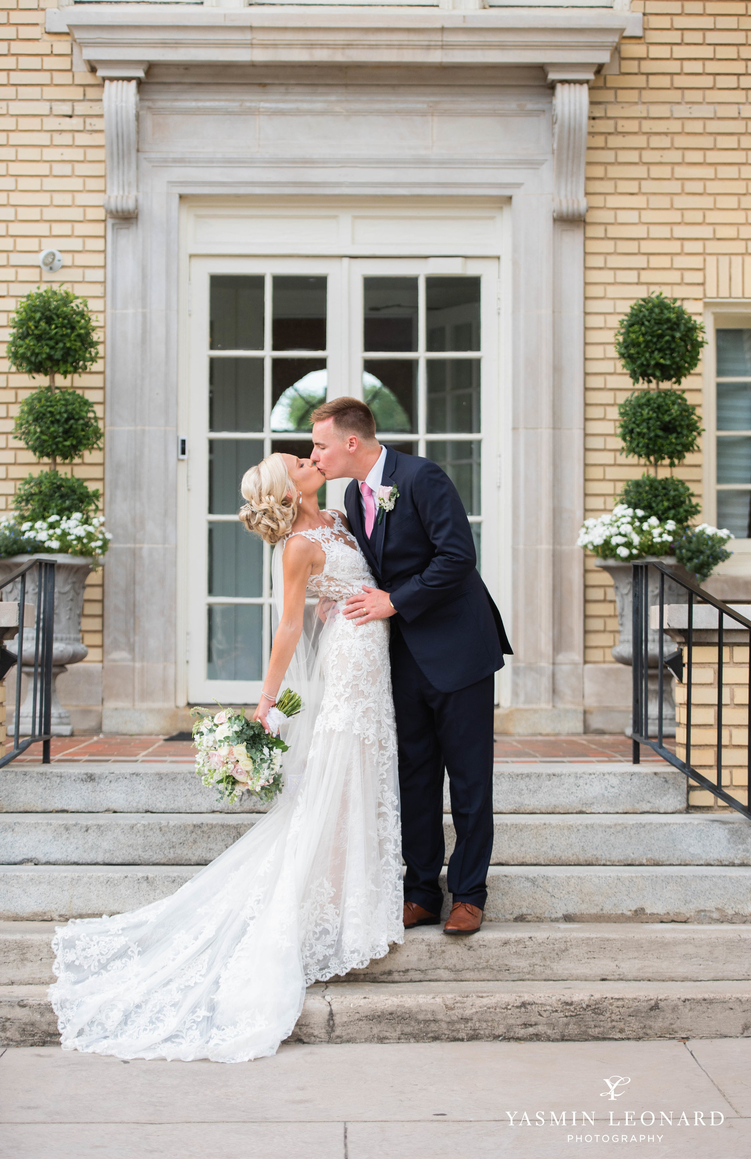 Separk Mansion - NC Weddings - Gastonia Wedding - NC Wedding Venues - Pink and Blue Wedding Ideas - Pink Bridesmaid Dresses - Yasmin Leonard Photography-36.jpg