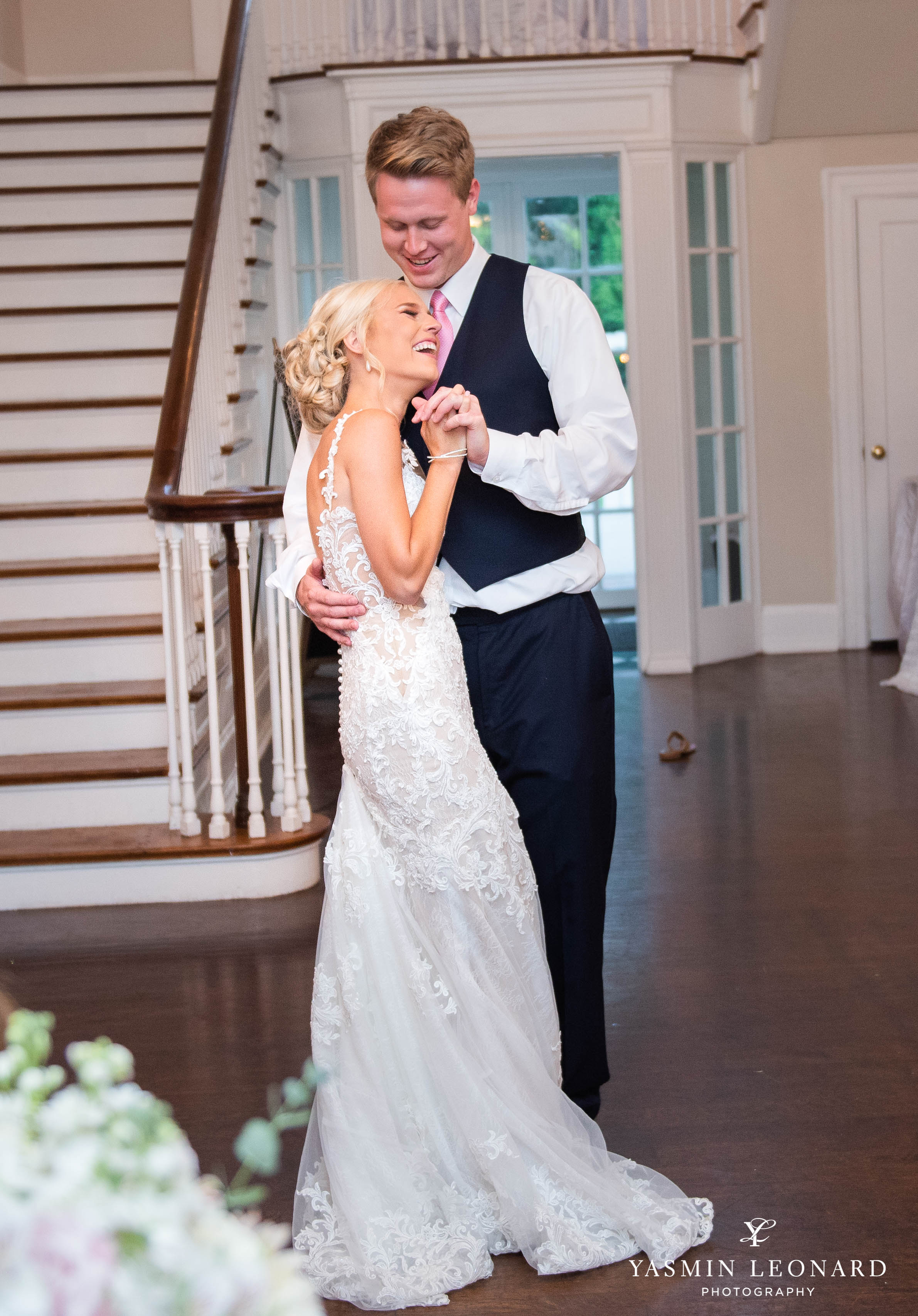 Separk Mansion - NC Weddings - Gastonia Wedding - NC Wedding Venues - Pink and Blue Wedding Ideas - Pink Bridesmaid Dresses - Yasmin Leonard Photography-51.jpg