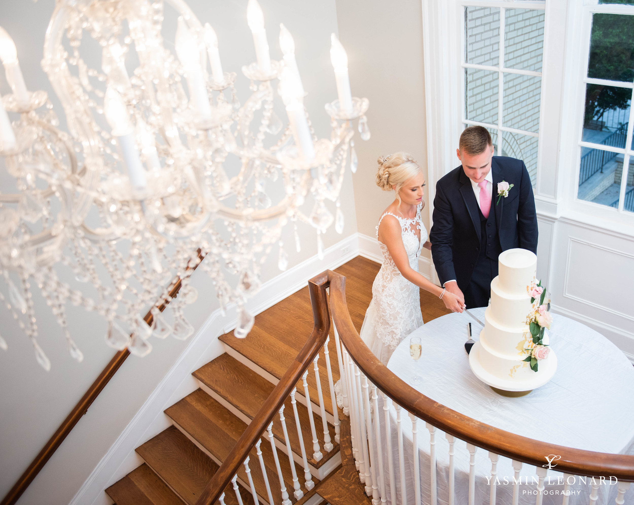 Separk Mansion - NC Weddings - Gastonia Wedding - NC Wedding Venues - Pink and Blue Wedding Ideas - Pink Bridesmaid Dresses - Yasmin Leonard Photography-56.jpg
