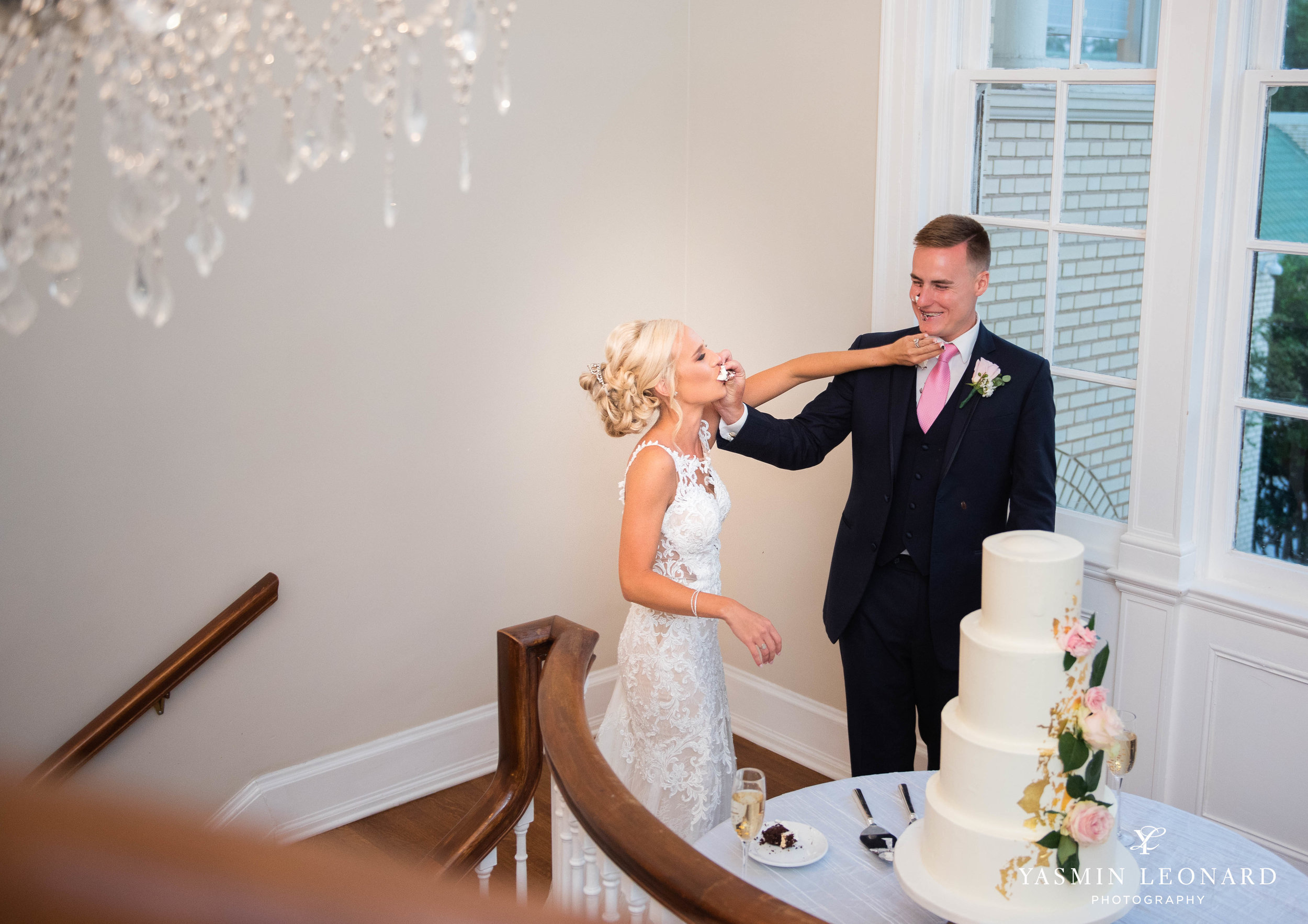Separk Mansion - NC Weddings - Gastonia Wedding - NC Wedding Venues - Pink and Blue Wedding Ideas - Pink Bridesmaid Dresses - Yasmin Leonard Photography-58.jpg