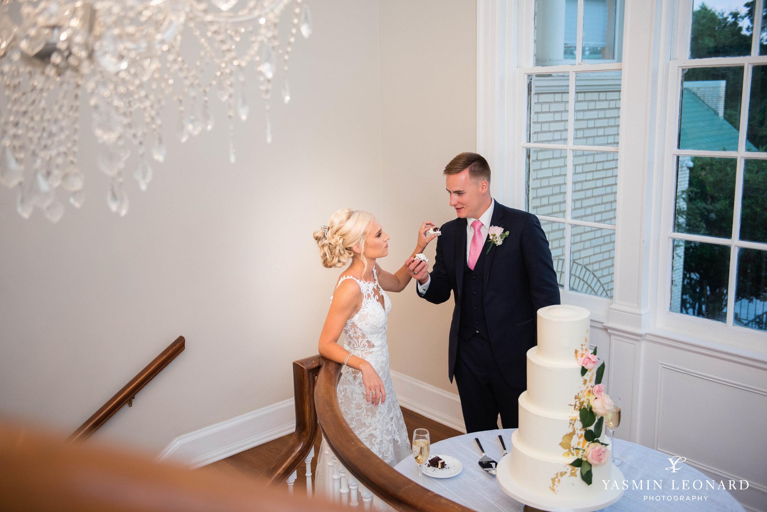 Separk Mansion - NC Weddings - Gastonia Wedding - NC Wedding Venues - Pink and Blue Wedding Ideas - Pink Bridesmaid Dresses - Yasmin Leonard Photography-57.jpg