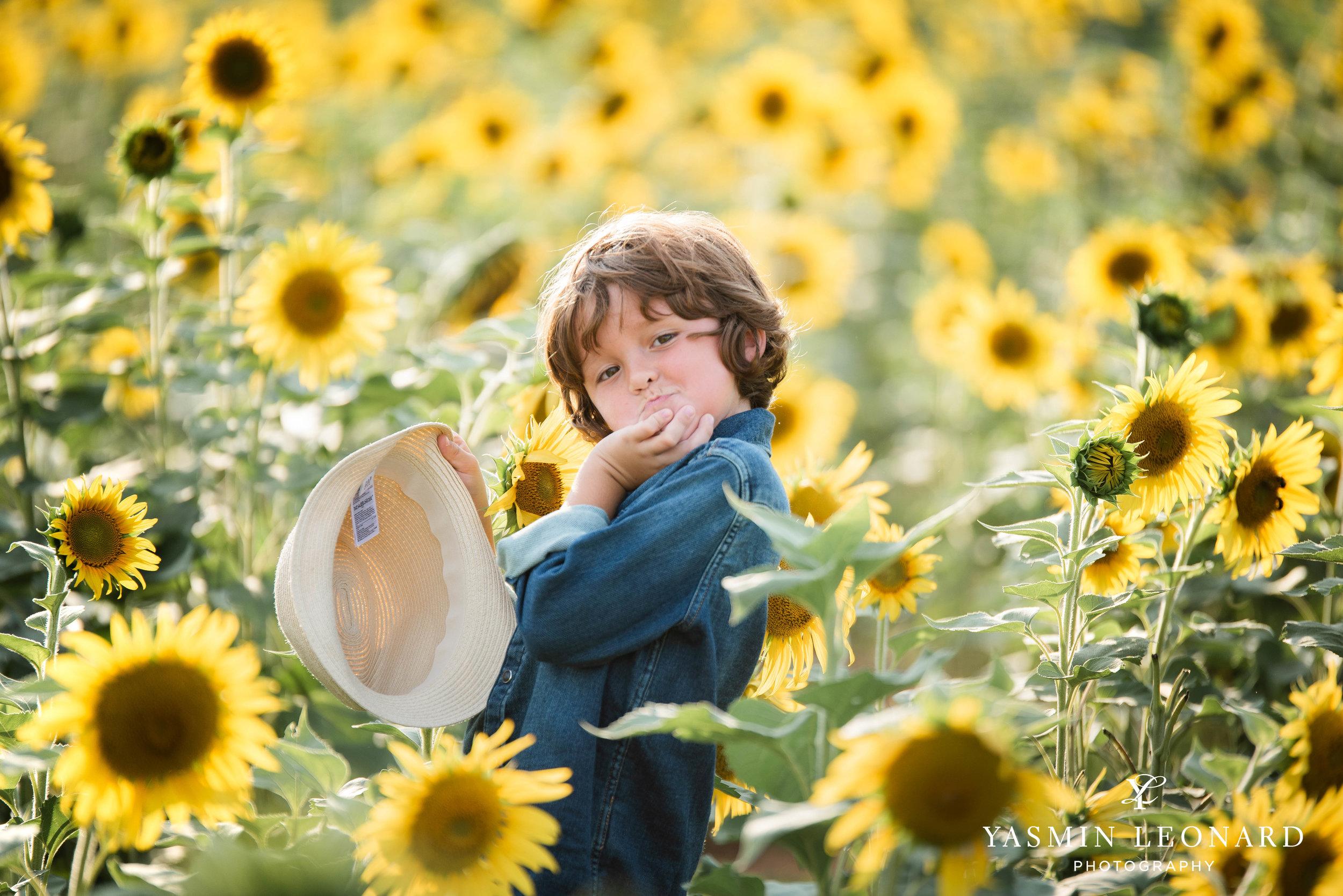 Sunflower Mini Session - Dogwood Farms - Sunflower Field - Boys in Sunflower Field - What to wear sunflower field - Yasmin Leonard Photography-7.jpg