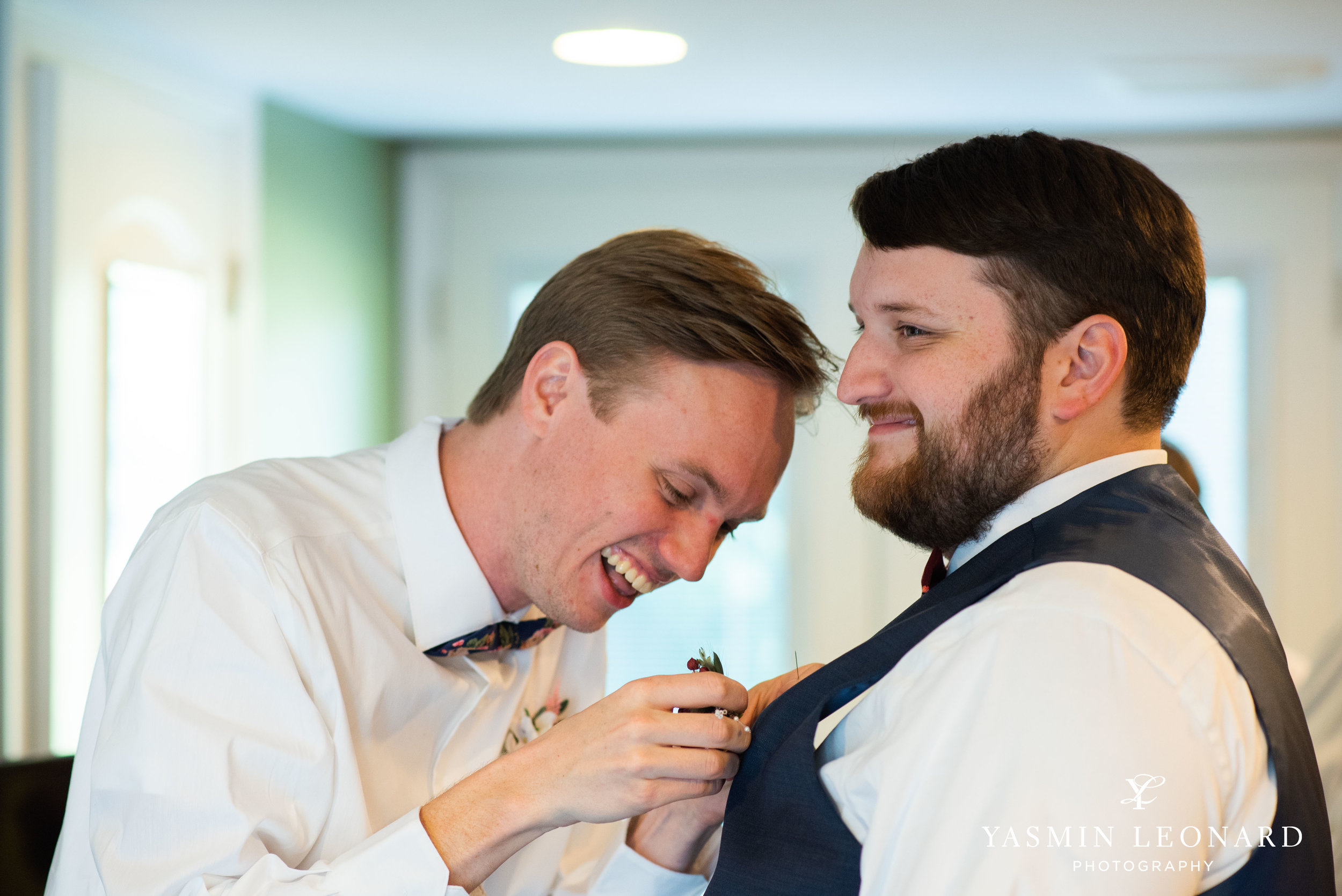 Hannah and David - l'abri at Linwood - NC Barn Weddings - Guys and Girls on Bride's Side - How to incorporate guys with bridesmaids - navy fall wedding - high point photographer - nc wedding venues - triad weddings-7.jpg