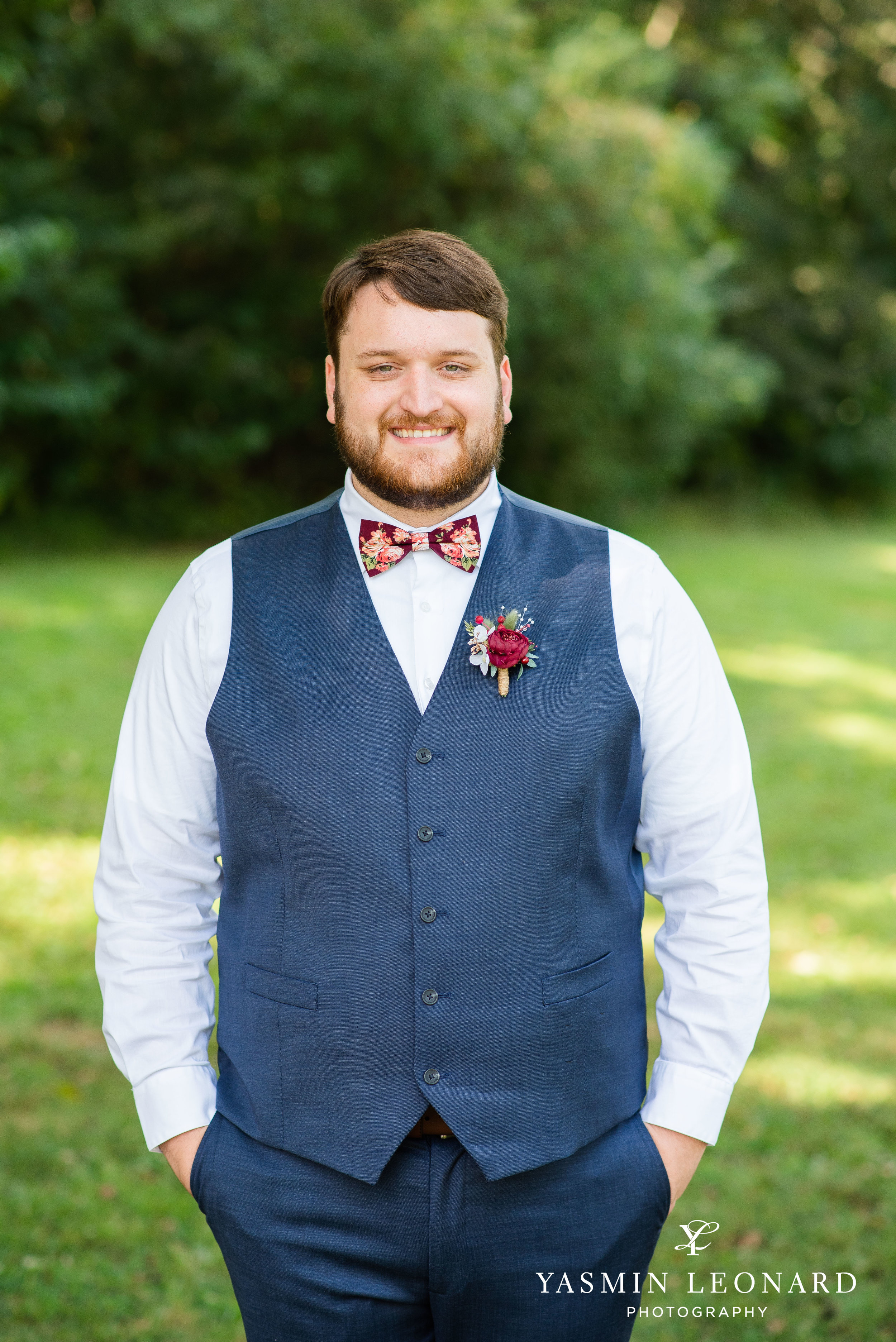 Hannah and David - l'abri at Linwood - NC Barn Weddings - Guys and Girls on Bride's Side - How to incorporate guys with bridesmaids - navy fall wedding - high point photographer - nc wedding venues - triad weddings-9.jpg