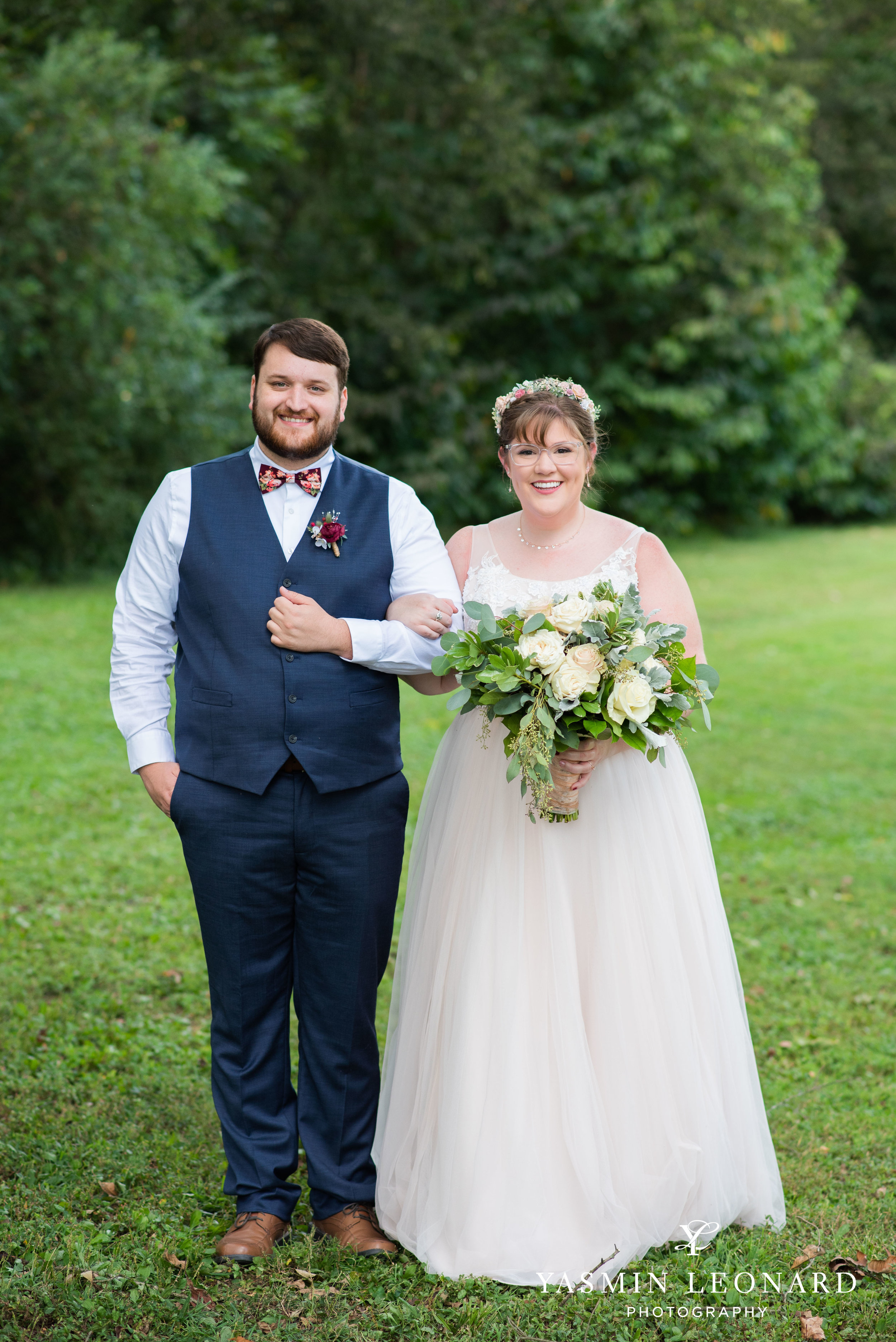 Hannah and David - l'abri at Linwood - NC Barn Weddings - Guys and Girls on Bride's Side - How to incorporate guys with bridesmaids - navy fall wedding - high point photographer - nc wedding venues - triad weddings-14.jpg