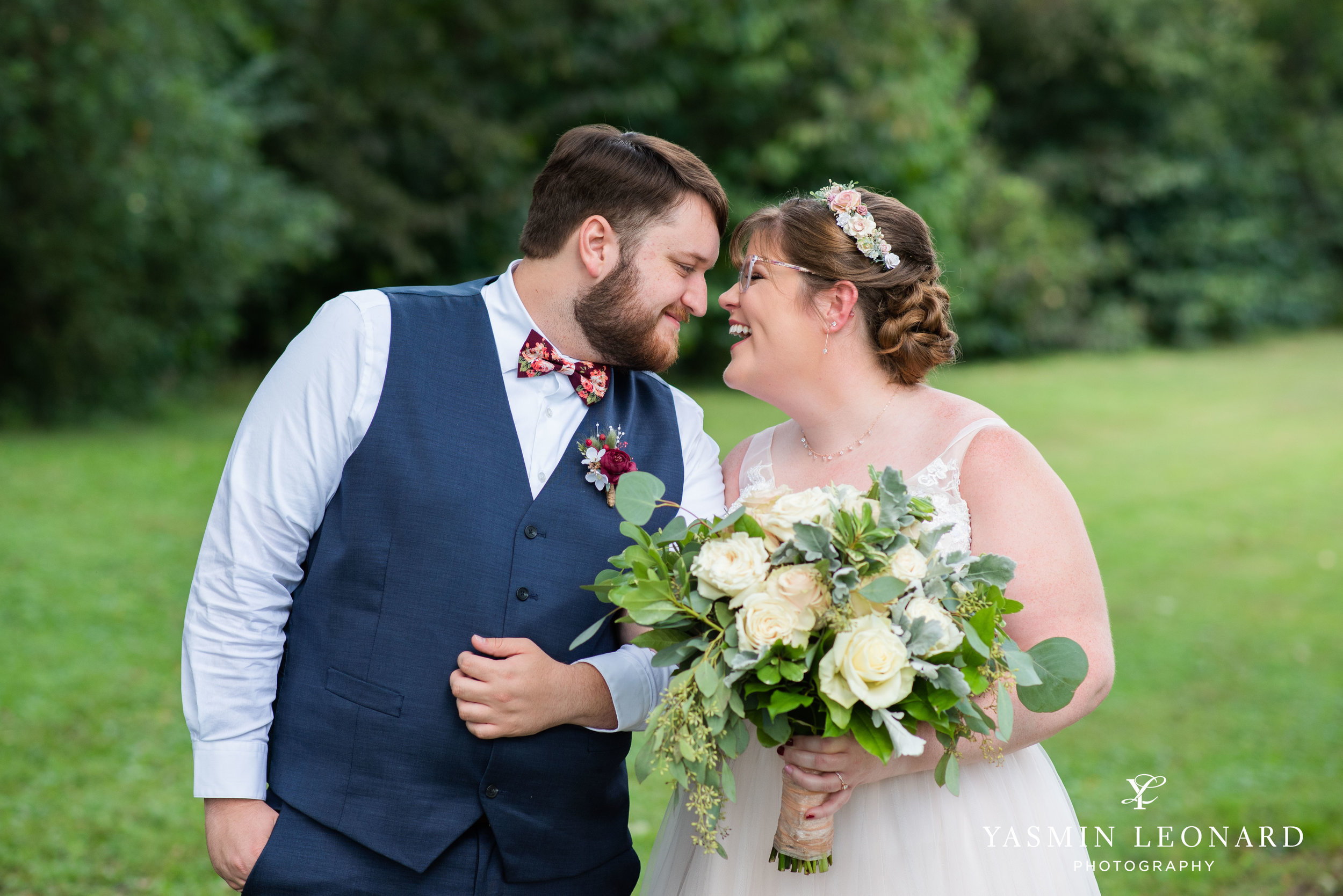 Hannah and David - l'abri at Linwood - NC Barn Weddings - Guys and Girls on Bride's Side - How to incorporate guys with bridesmaids - navy fall wedding - high point photographer - nc wedding venues - triad weddings-15.jpg