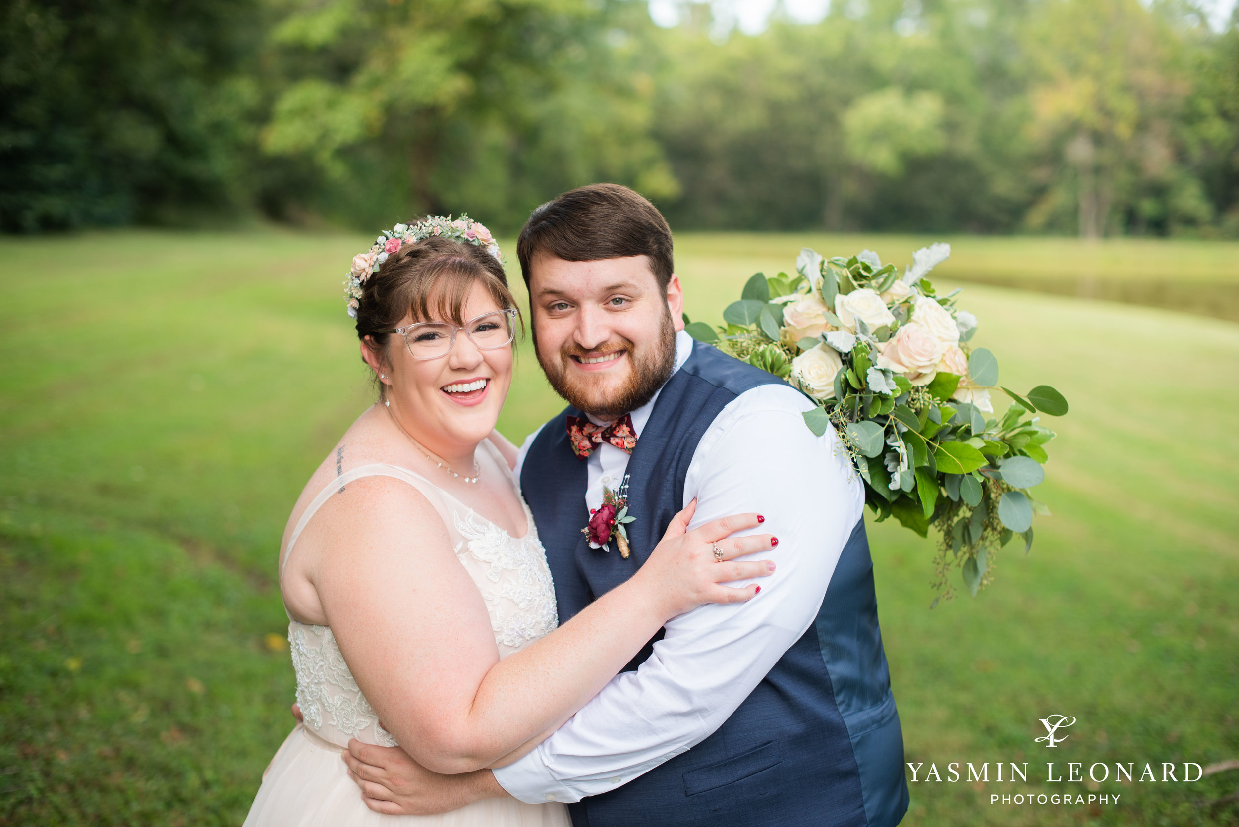 Hannah and David - l'abri at Linwood - NC Barn Weddings - Guys and Girls on Bride's Side - How to incorporate guys with bridesmaids - navy fall wedding - high point photographer - nc wedding venues - triad weddings-17.jpg