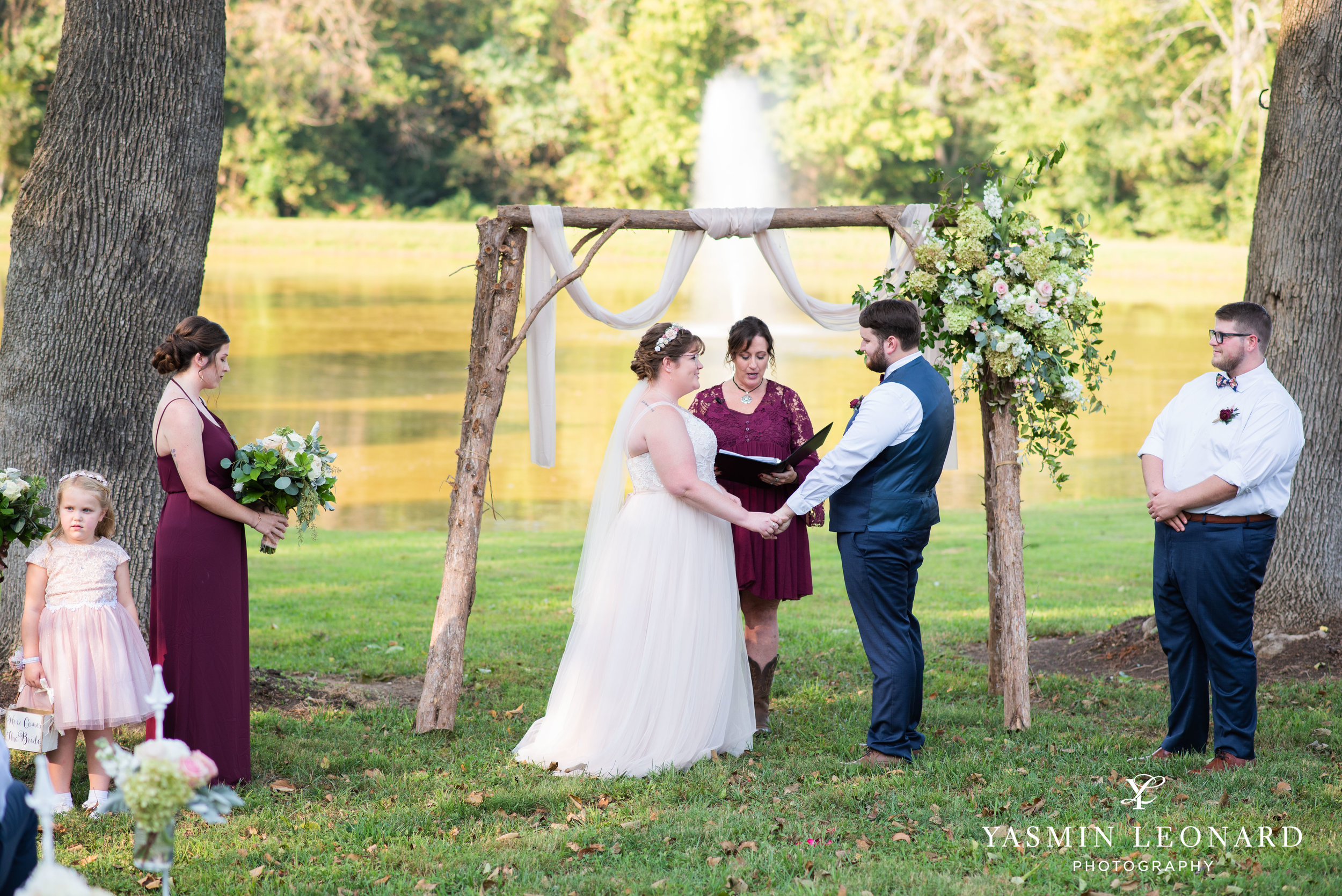 Hannah and David - l'abri at Linwood - NC Barn Weddings - Guys and Girls on Bride's Side - How to incorporate guys with bridesmaids - navy fall wedding - high point photographer - nc wedding venues - triad weddings-25.jpg