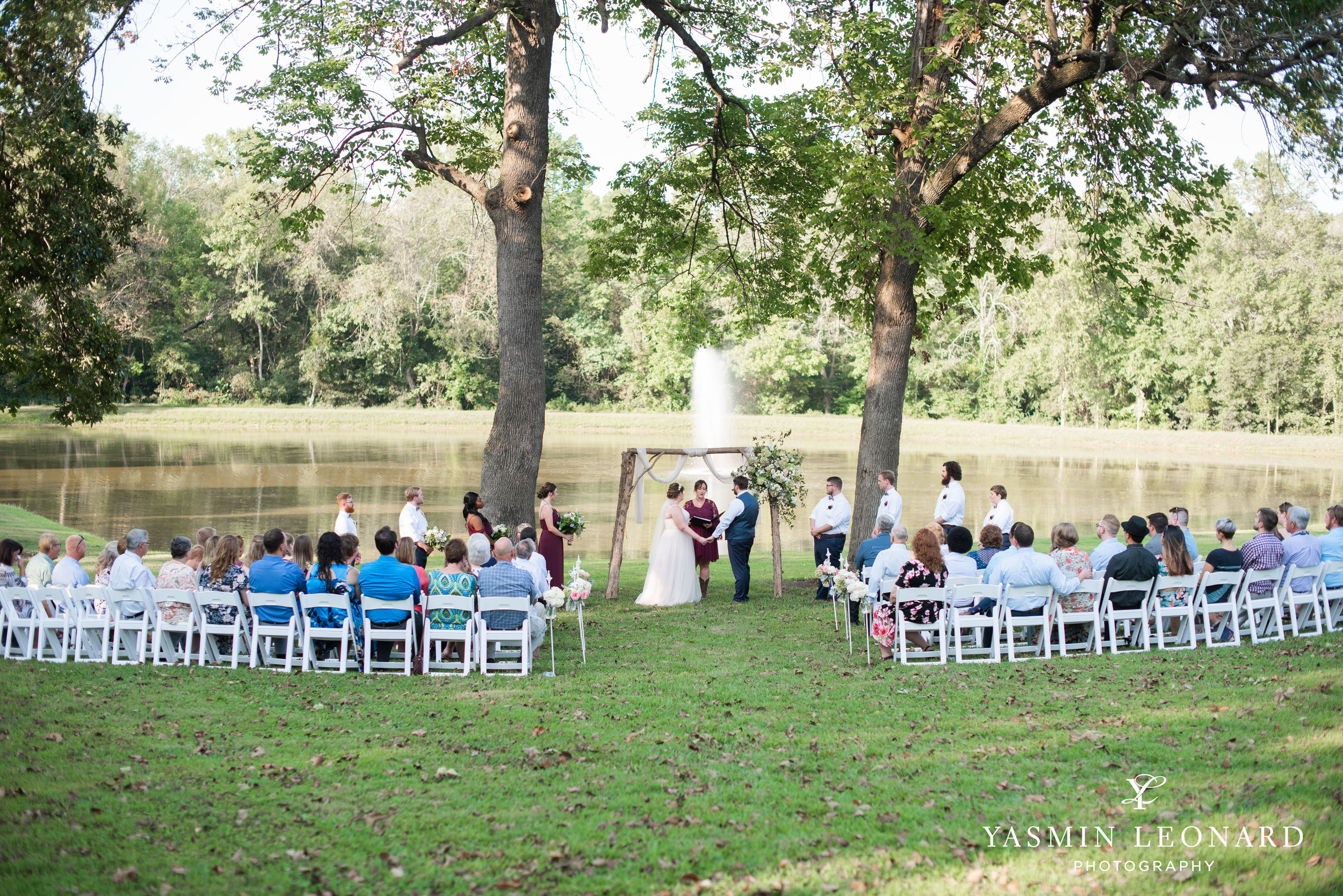 Hannah and David - l'abri at Linwood - NC Barn Weddings - Guys and Girls on Bride's Side - How to incorporate guys with bridesmaids - navy fall wedding - high point photographer - nc wedding venues - triad weddings-26.jpg