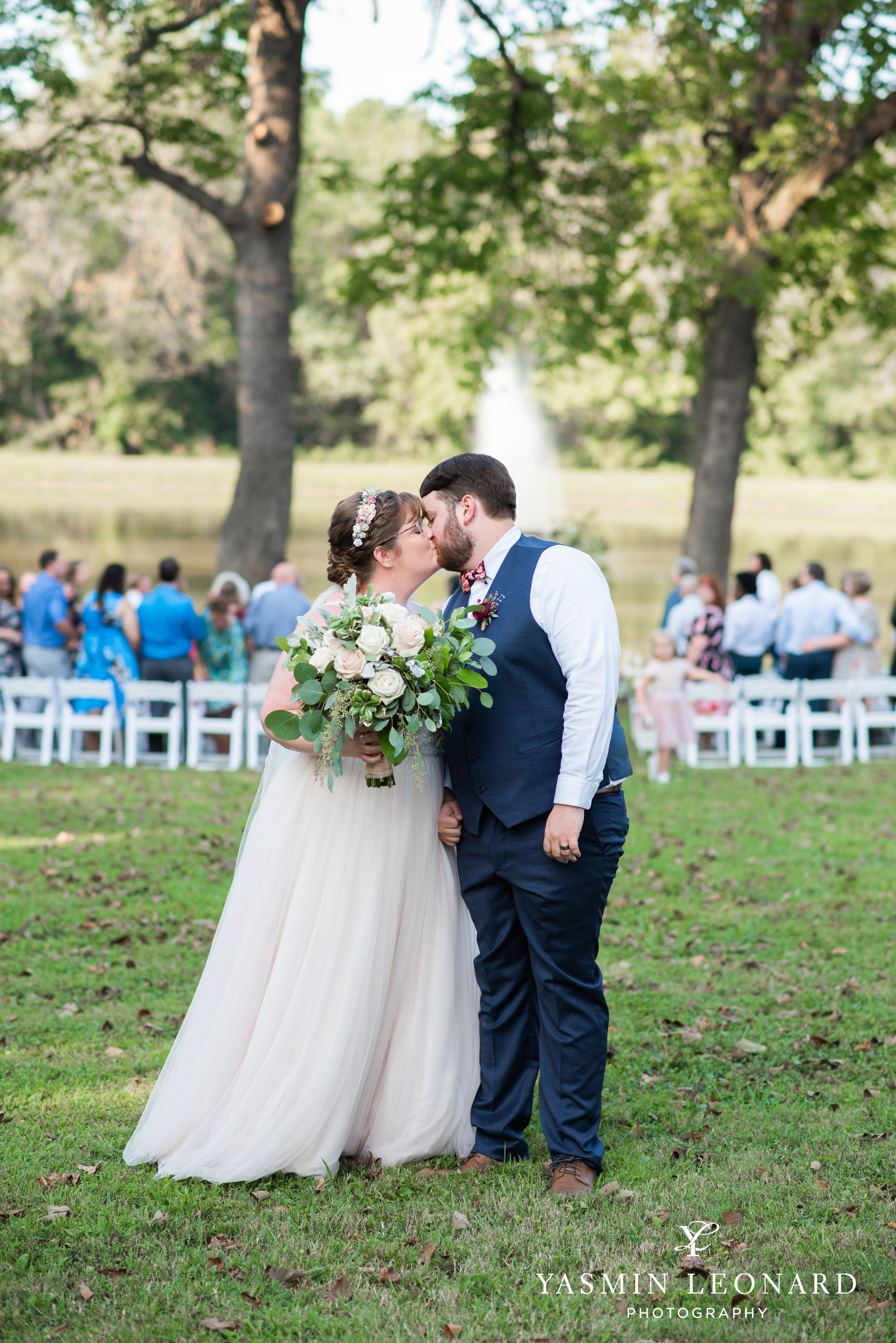 Hannah and David - l'abri at Linwood - NC Barn Weddings - Guys and Girls on Bride's Side - How to incorporate guys with bridesmaids - navy fall wedding - high point photographer - nc wedding venues - triad weddings-30.jpg