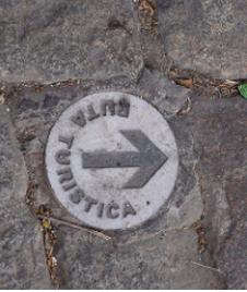 walking tour route in Carmona