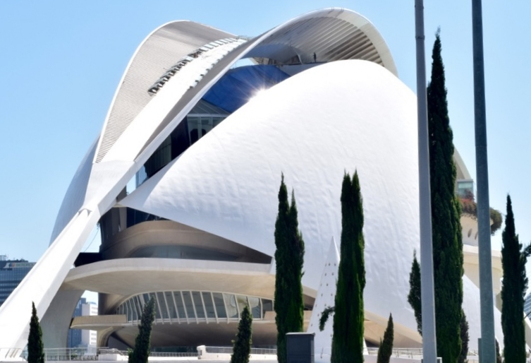 Palau de les Arte is as stunning of a structure on the outside as the performances it offers
