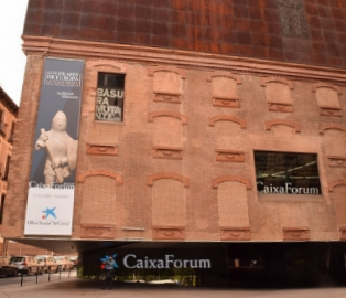 THE CAIXA FORUM IS CONSTANTLY CHANGING ITS EXHIBITIONS