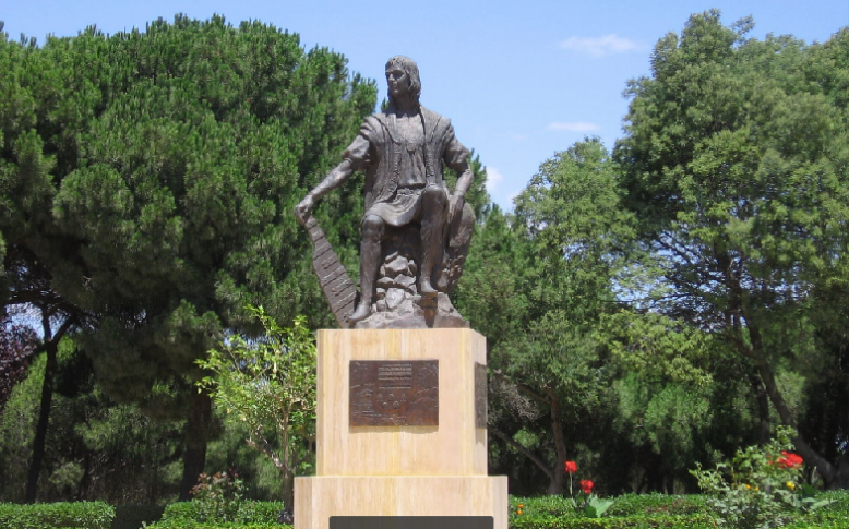 Christopher Columbus's history is tied closely with Huelva. He lived there, built his ships and planned his voyage from a small coastal town near Huelva. Kerry Shellborn photo