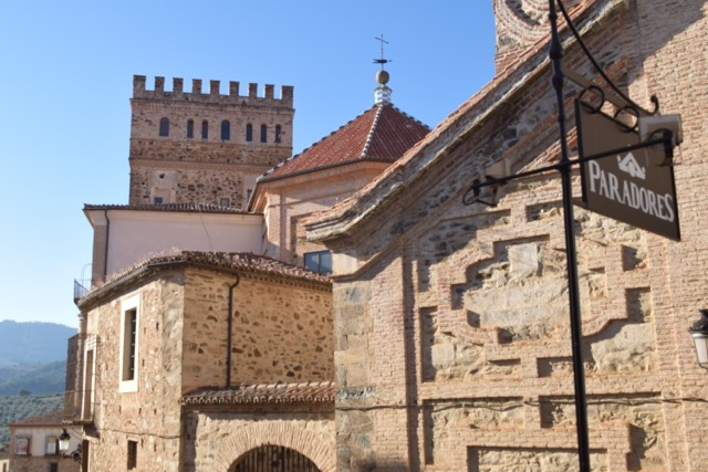 As you look closer at the Monastery you can see the different architectural styles.