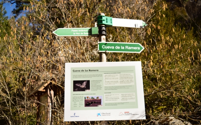 All trails are well marked by signs.