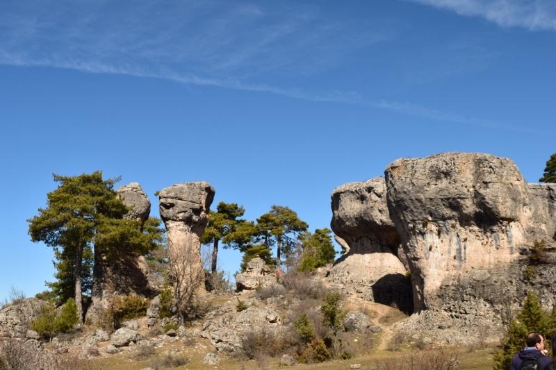 Rock formations at Callejones