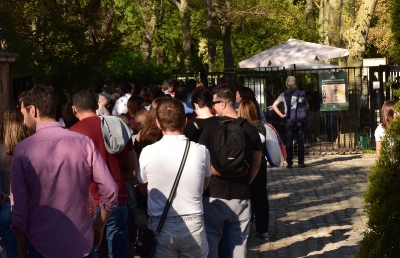 If you want to avoid lineups to enter Capricho, go in the morning.
