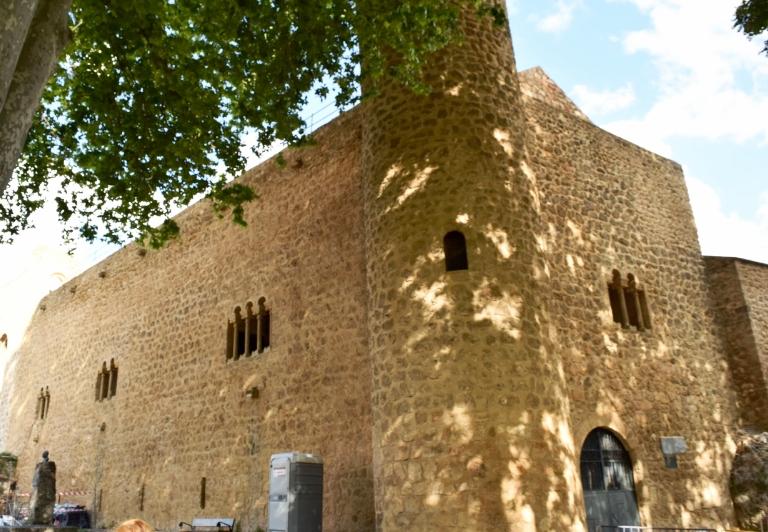 Peña castle was built in the 12th century.
