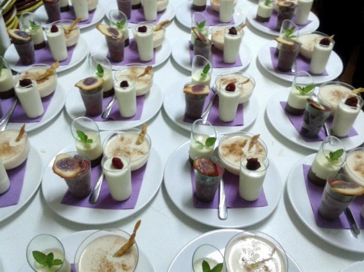 dessert at La Peña