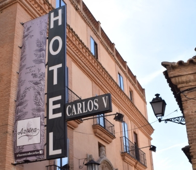 Hotel Carlos V is in the heart of Toledo