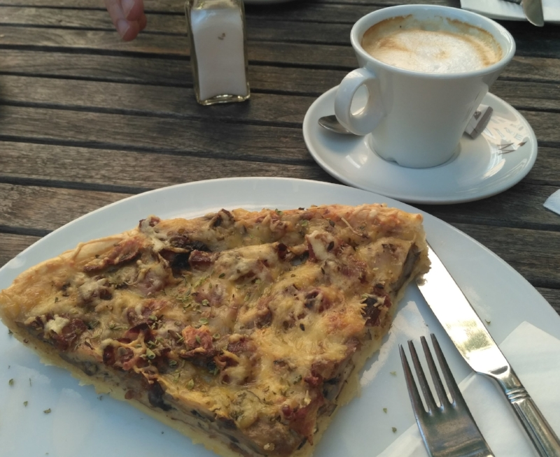 One of the best quiches I have ever tasted. Ever. Anywhere.
