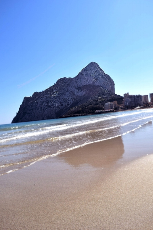 The Peñon of Ifach Rock begs to be climbed.