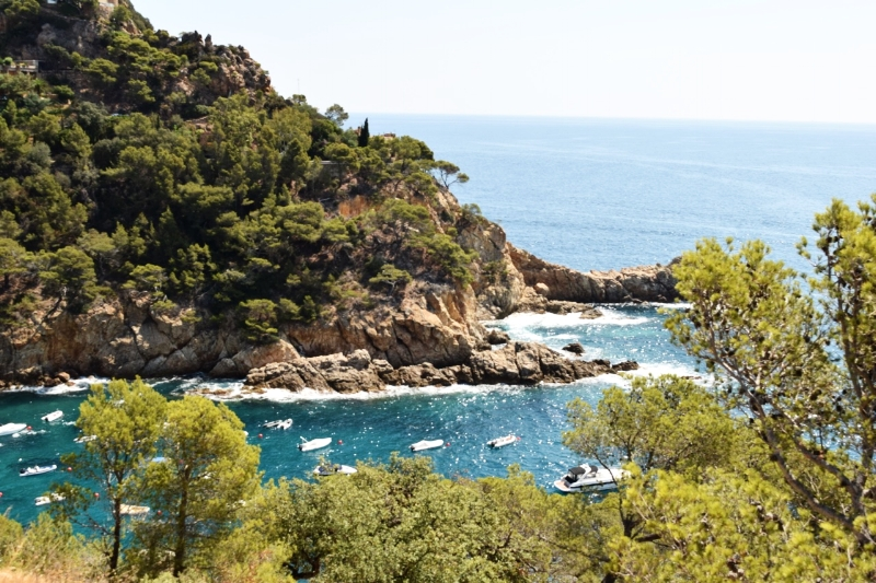 The Costa Brava is of rugged coastlines.