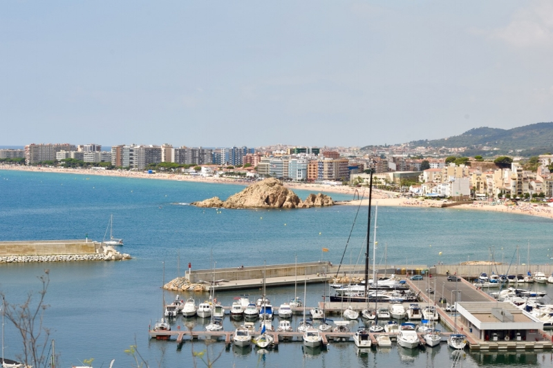Blanes is the gateway to the Costa Brava.