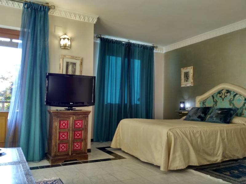The Arabic suite at El Milano Real