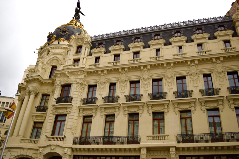 Stately building in Madrid
