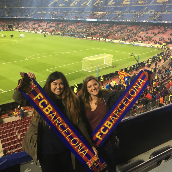 Don't miss the opportunity of taking in a Barca game. Photo by Carmina Prudencio