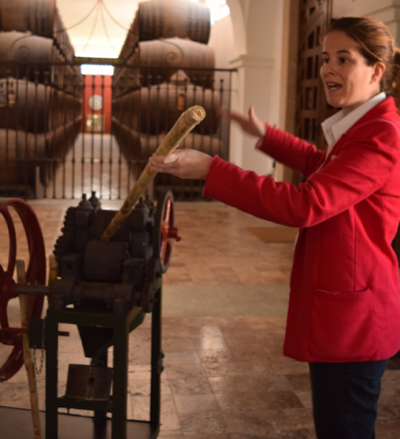 Our guide Blanca gave us the history of extracting sugar and molasses from the sugar cane.