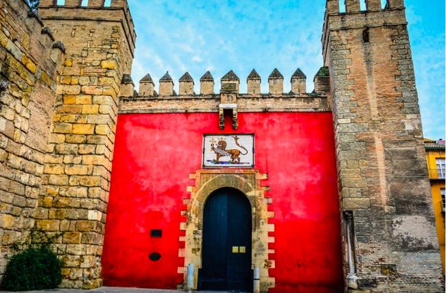 Main entrance to the Alcazar, Seville. Erica Hansen photo