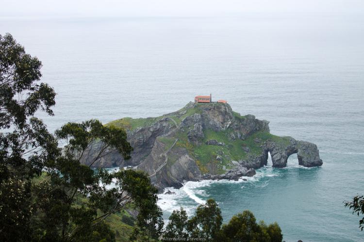 Take this wild and remote stairway to San Juan de Gaztelugatxe, a Game of Thrones location. Photo courtesy Alternative Travelers