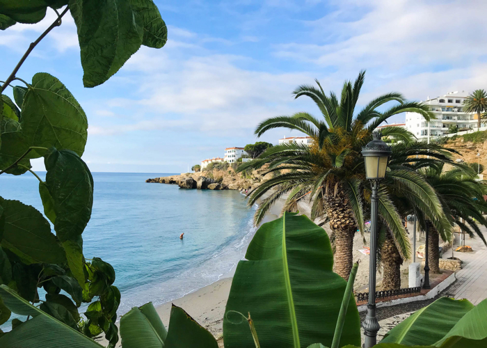 The beach town of Nerja is a wonderful place to spend time in Spain.