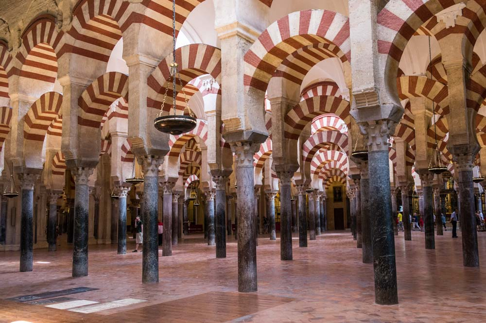 The Mosque in Cordoba, a stunning piece of history was built 1200 years ago.