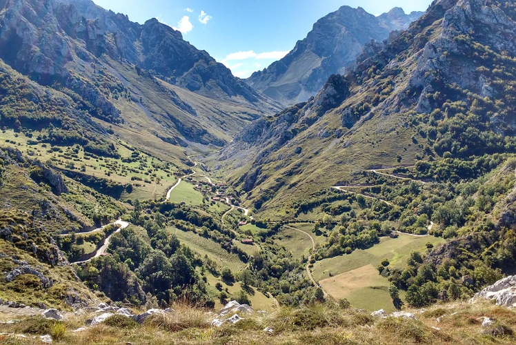 The breathtaking Picos de Europa are waiting for nature lovers.