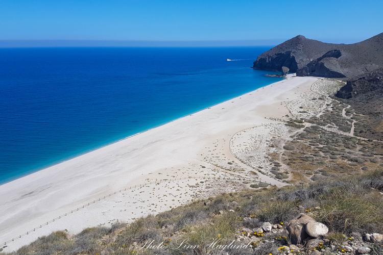 Playa de los muertos is tourist-free and beautiful white sandy beaches.