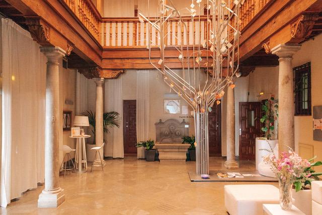 This boutique hotel, Gar Anat, takes inspiration from the Moorish design so common in Granada.