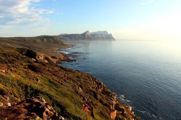 Breathtaking scenery around Cape Finisterre in Galicia, Spain.