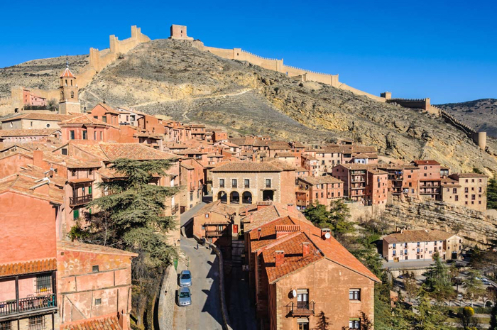 Medieval town, Albarracín will capture your heart when you visit.