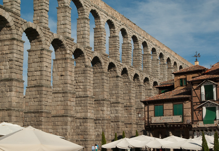 Dinner at Meson de Candido in Segovia takes top points in the romance department.