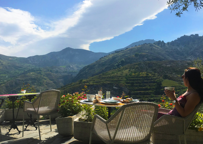 Waking up to the views from the La Almunia del Valle make for a stunning experience.