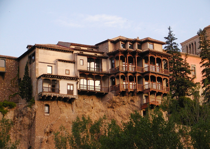 The hanging houses of Cuenca.