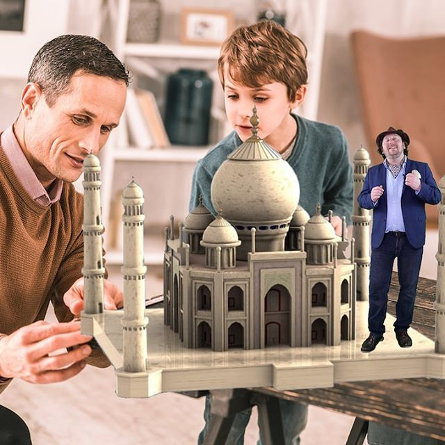 Stay tuned for a whole new experience for stories, staycation and when you experience on site. The best guides and digital experiences. #ar #ios #android #arhistory #tajmahal #augmentedreality #nreal #magicleap #hololens #mixedreality #spatial #gooddad